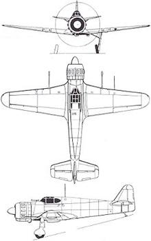 Plan 3 vues du Bloch MB.152