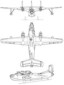 Plan 3 vues du Nord N.1400 Noroît