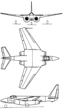 Plan 3 vues du Nord N.1601