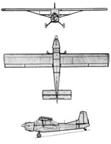Plan 3 vues du Nord N.3400 Norbarbe
