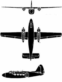 Plan 3 vues du Percival  Pembroke