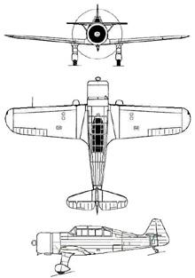 Plan 3 vues du VL  Pyry