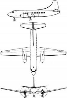 Plan 3 vues du Martin RM-1/VC-3