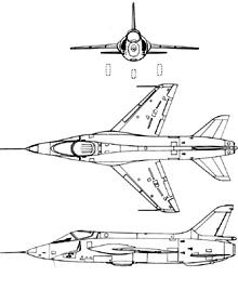 Plan 3 vues du Breguet Br.1001 Taon
