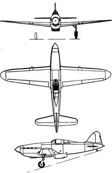 Plan 3 vues du Arsenal VG.33