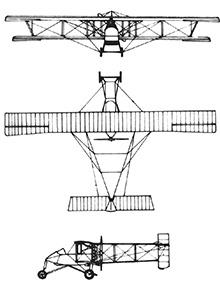 Plan 3 vues du Voisin LA / Type III