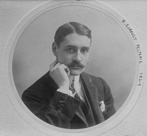 Robert Esnault-Pelterie en 1909 Bibliothèque du Congrès des Etats-Unis