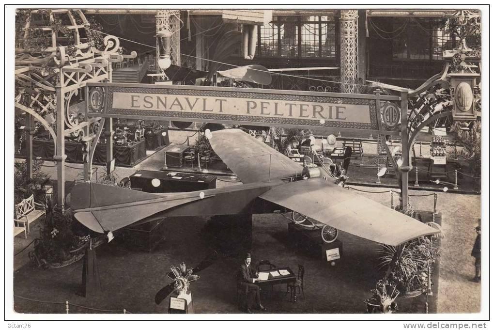 Robert esnault pelterie biographie for Salon aeronautique