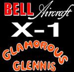 Logo Bell X-1 Glamorous Glennis