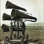 Détecteur acoustique 1914 - 1918