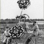 Détecteur acoustique en nids d'abeilles - 1917