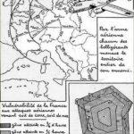 carte d'invasion aérienne Fin années 1930