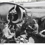 Unité féminine en charge d'un RRH  1944-1945