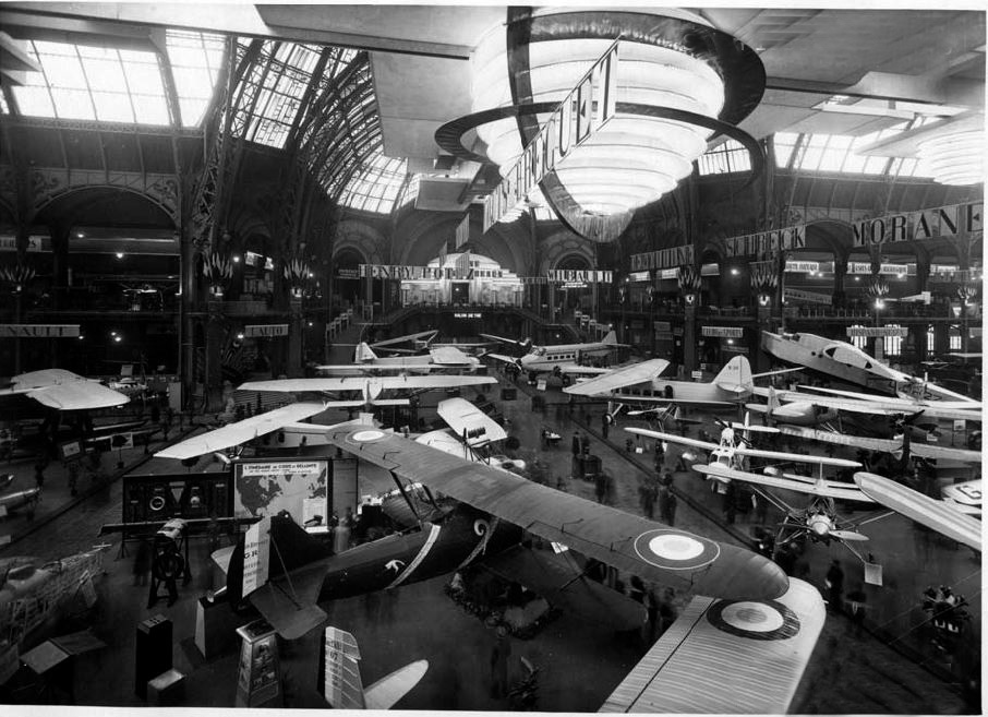 Les salons d 39 aviation des ann es 30 reflets de l aviation for Salon aeronautique