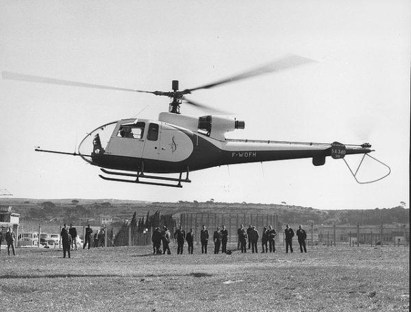 Prototype de l'Aérospatiale SA-340 Gazelle.