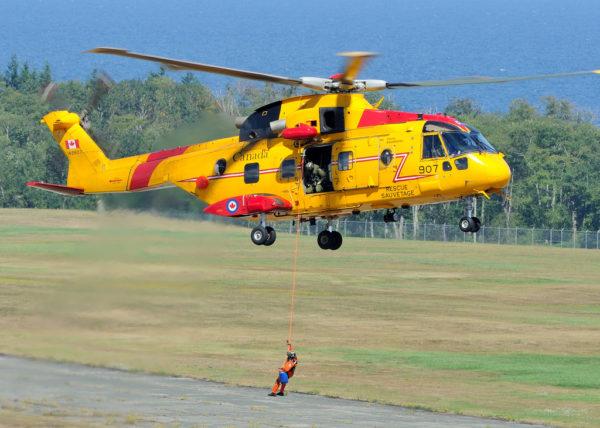 Agusta-Westland CH-149 Cormorant des Forces Armées Canadiennes.