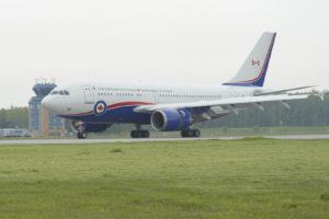Airbus CC-150 Polaris des Forces Armées Canadiennes.