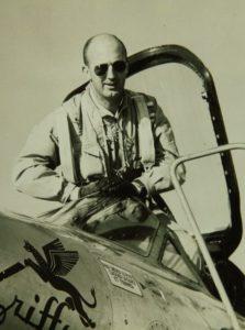André Turcat à l'époque où il était pilote d'essai du Griffon.
