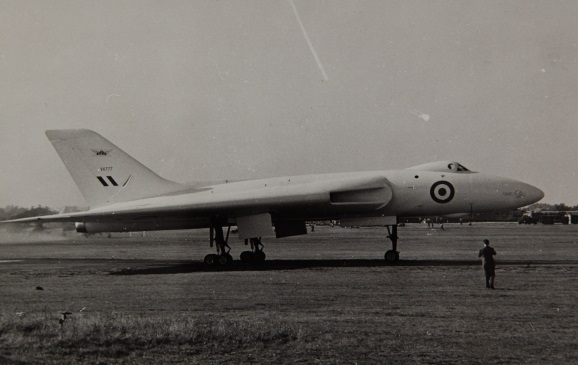 Avro Vulcan B Mk-1 appartenant à la Royal Air Force.