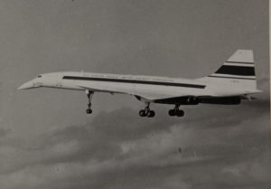 Prototype Concorde en vol