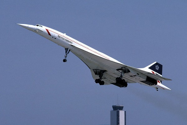 Concorde G-BOAC de British Airways.