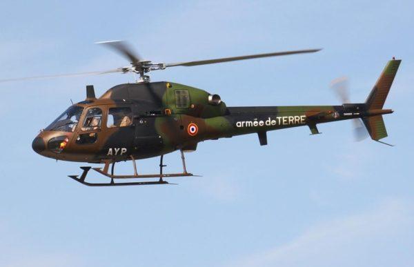 Aérospatiale AS-555 Fennec d'entraînement de l'ALAT.