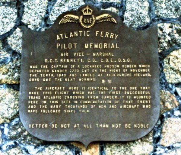 Ferry Command Memorial