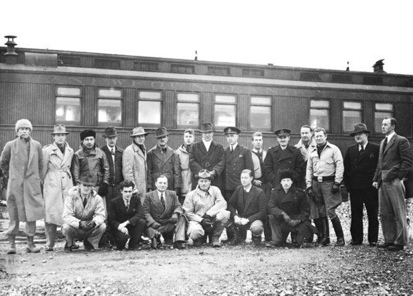 Ferry Command original crew