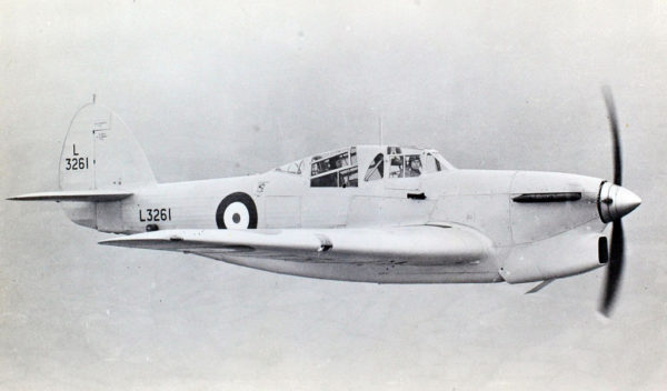 Le Hawker Henley, chasseur raté issu de la Specification 4/34.