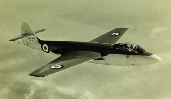 Hawker Sea Hawk F Mk-1 appartenant à la Fleet Air Arm.