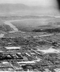 Hiroshima, au matin du 7 août 1945.