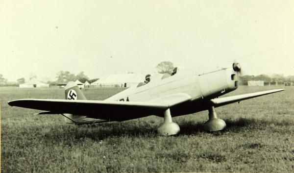 Avion d'entraînement primaire allemand Klemm Kl 35.