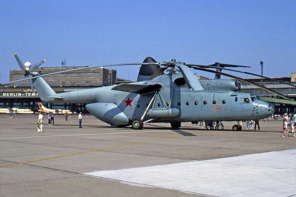 Mil Mi-6 durant la guerre froide.