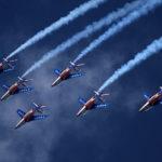 Les patrouilles acrobatiques dans le monde