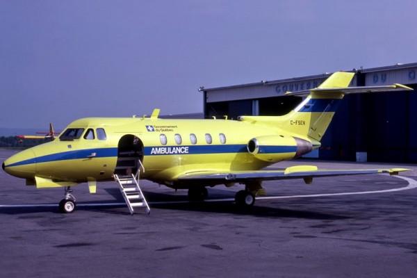 SAGQ Hawker Siddeley HS-125
