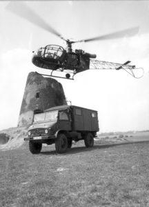 Alouette II aux couleurs de l'armée allemande.