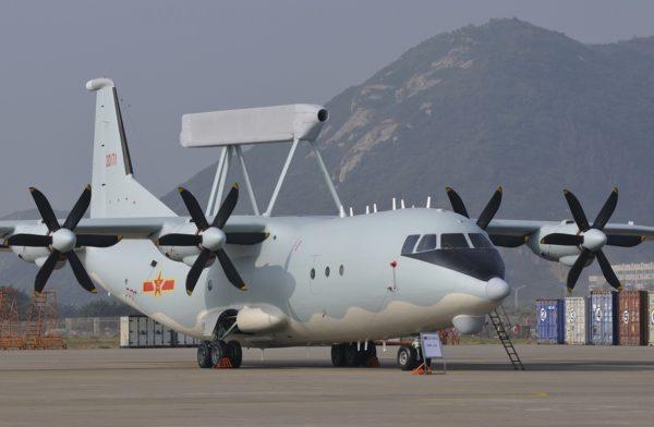 Le très discret Shaanxi KJ-200, avion de veille radar des militaires chinois.