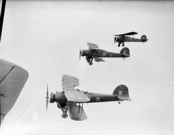 Fairay Swordfish du Coastal Commande volant de conserve au-dessus de l'Atlantique.