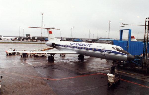 Le Tu-134, outil de la modernisation d'Aeroflot.