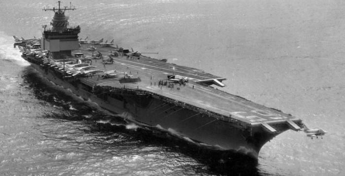 Les porte avions am ricains durant la guerre froide dossier - Deuxieme porte avion francais ...