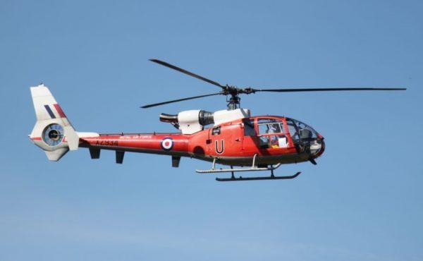 Westland Gazelle HT Mk-3 d'entraînement aux couleurs de la Royal Air Force.