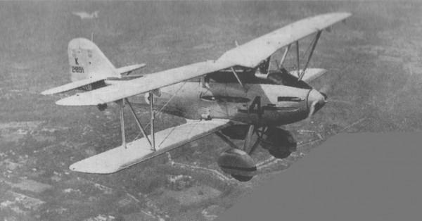 Le Westland PV.4, défait par le Gloster Gladiator.