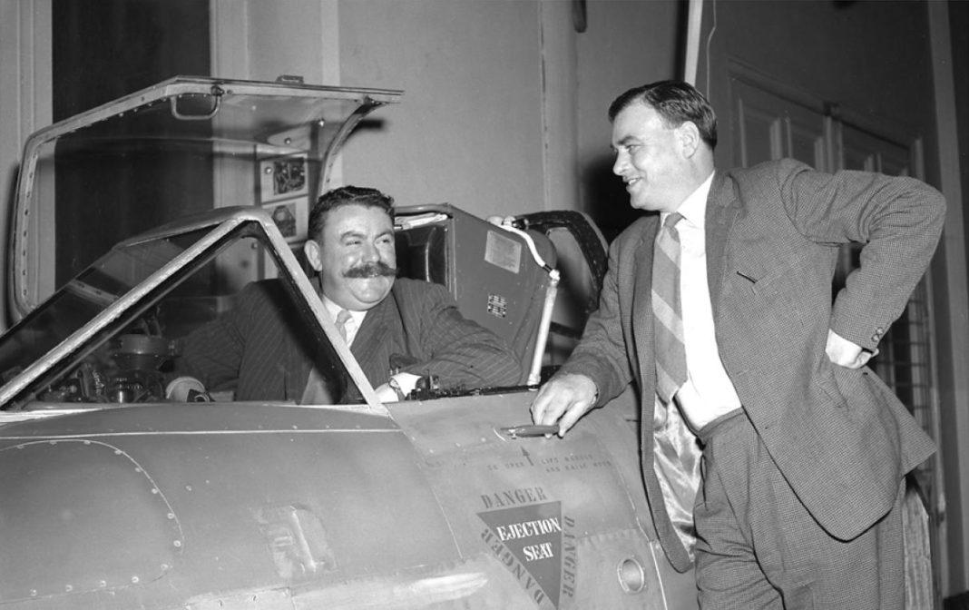 Benny Lynch (cockpit) avec J.O Lancaster