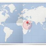 Cocardes des pays d'Afrique de l'Est