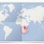 Cocardes des pays du Sud  de l'Afrique