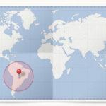Cocardes des pays d'Amérique du Sud