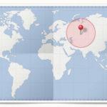Cocardes des pays d'Asie Centrale