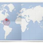 Cocardes des pays des Iles des Caraïbes
