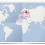 Cocardes des pays d'Europe de l'Est