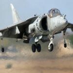 La poussée vectorielle : le Harrier